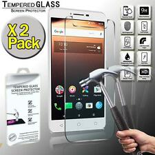2 Pack Tempered Glass Film Screen Protector Cover For Alcatel A3 XL