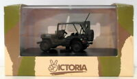 Victoria Models 1/43 Scale R001 - Willy's Jeep Closed - D-Day 1944