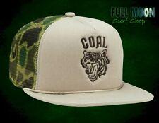 New Coal Khan Camo Wolf Beast Mens Trucker Snapback Cap Hat