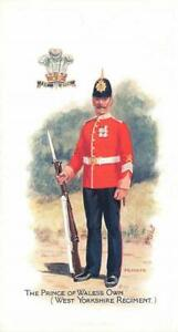 SOLDIER'S PAY Prince of Wales's Own West Yorkshire Regiment Postcard