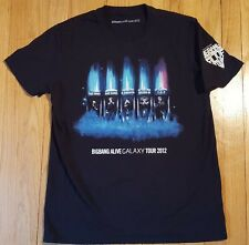 2012 BIGBANG Alive tour shirt kpop Samsung Galaxy concert black official Korea