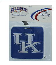 NEW! University of Kentucky Wildcats Golf Bag Tag Embroidered Luggage Tag