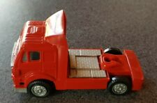 VINTAGE NEW-RAY TOYS ARTICULATED TRUCK PLASTIC RED 1995