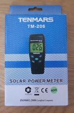 Tenmars TM-206 BTU solar power meter.
