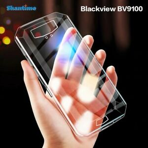 New Shockproof Slim Silicone Thin Case Soft TPU Cover For Blackview BV9100