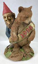 Tom Clark Tim Wolfe Gnome Grin & Bear It 1998 #6337 Edition #27 Cairn Studios 6""