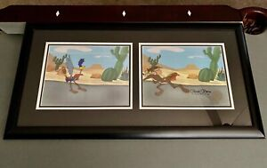 Looney Tunes Production Animation Cels - Roadrunner & Wile E. Coyote - REDUCED!!
