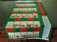 Advent Calendar Panel 23x42 Quilting Treasures Christmas