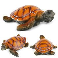 Fish Tank Decor Resin Sea Turtle Aquarium Decorative Tropical Theme Lan BRA