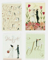 4 Stück XXL Geschenktüte Rosen 50 x 72 x 16cm Hochzeit Geburtstag Geschenktasche
