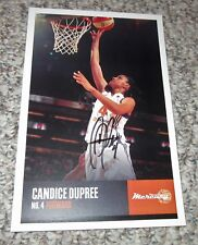 2013 Phoenix Mercury CANDICE DUPREE autographed official team color photo