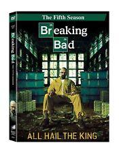 Breaking Bad ~ 5th Fifth Season 5 Five ~ BRAND NEW 3-DISC DVD SET