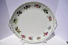 Rare Royal Albert Cake Plate Flowers of the Season 12 months