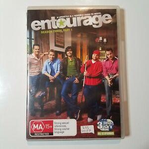 Entourage: Season 3 Part 1   DVD TV Series   Adrian Grenier   2007   Sitcom