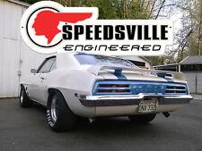 "Speedsville Engineered Metal Sign - 30"" x 11"" Pontiac GTO Judge Ram Air SD 421"