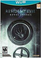 Resident Evil: Revelations [Nintendo Wii U, NTSC, Zombies, Action, Survival] NEW