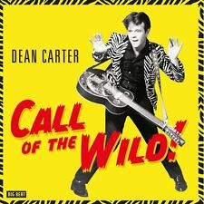DEAN CARTER Call Of The Wild 180g red vinyl LP NEW garage punk rock n roll Elvis