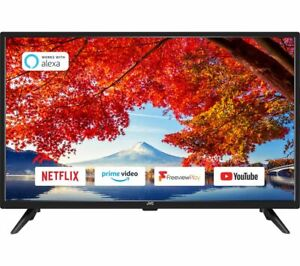 """JVC LT-32C605 32"""" Smart HD Ready LED TV with Built-in DVD Player"""