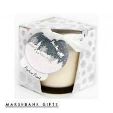 Snowglobe Candle Pot With Box