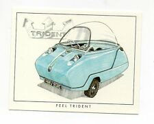 #8 Peel Trident Micro/Bubble Car card