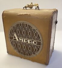 VINTAGE AMPRO DELUXE SPEAKER HARMONICA/GUITAR AMP Good Driver $9.99