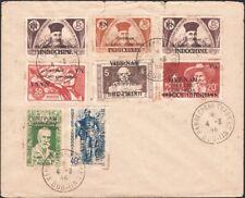 NO. VIETNAM, 1946. Viet Minh Cover 1L2 // 1L25 (8), Hanoi #2