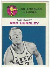 1961-62 FLEER BASKETBALL #21 ROD HUNDLEY 2ND YEAR - EXCELLENT+