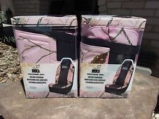 Realtree Girl Pink Camo Universal Seat Covers Pink Camo Set of 2 - RSC2504 NEW