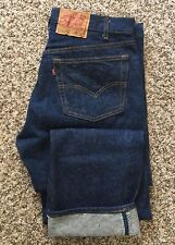 Vintage Levi's 501 Button fly Straight Leg Size 35X31 Made In USA No Big E