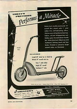1946 PAPER AD Jamestown Sidewalk Scooter Model 46-2 Toy