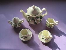 vintage tea set miniture