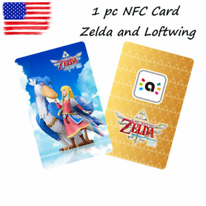 1 piece The Legend of Zelda Zelda and Loftwing NFC Game Card For Nintendo Switch