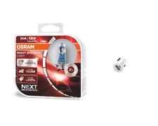 OSRAM H4 12 V Night Breaker Laser +150% mehr Helligkeit +  USB Adapter