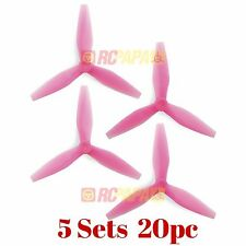 HQ Prop DP 5x4.5x3 v3 Tri-Blade Propellers Props for FPV Race (Light Pink) 20pc