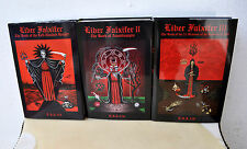 Liber Falxifer 3 Volume Set Consecrated TOTBL Santa Muerte Grimoire Ixaxaar Rare