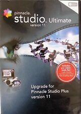 Pinnacle Studio Ultimate Version 11 Upgrade Movie Software w/Serial Number