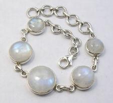 Moonstone Sterling Silver Handcrafted Bracelets