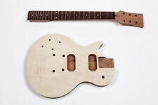 Kit Guitarra Les Paul caoba zurdo - Left-handed electric guitar DIY Mahogany