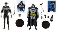 "McFarlane Toys DC Batman White Knight 7"" Batman & The Joker 7"" Action Figure Lot"