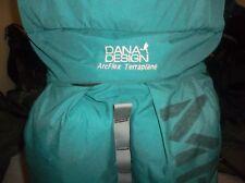 Dana Design Terraplane Backpack Old School Pack Winter Pack USA Montana Teal L/M