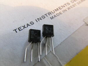 BC183 Texas Instruments W-Germany BJT NPN bipolar Transistor Hi-Quality 4 pieces
