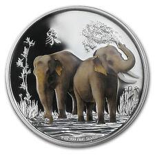 2015 Niue 1 oz Silver $2 Feng Shui Elephants (w/Box & COA) - SKU #86135