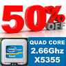 INTEL XEON 4CORES PROCESSOR X5355 2.66GHZ SLAC4 for HP PROLIANT ,DELL PE servers
