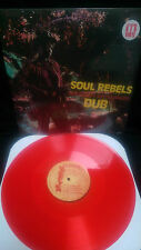 Bob Marley & the Wailers Soul Rebels Dub Vinyl LP Produced by Lee Scratch Perry