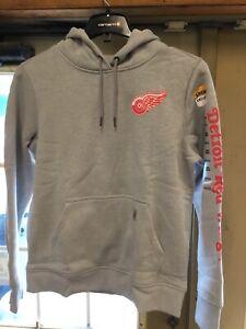 "Carhartt 103405 Women's NHL ""Detroit Red Wings"" Logo Hooded Pullover Sweatshirt"