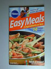 PILLSBURY Cookbook Booklet  EASY MEALS  2005  #292