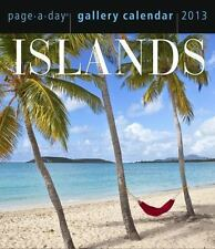 NEW - Islands 2013 Gallery Calendar by Workman Publishing