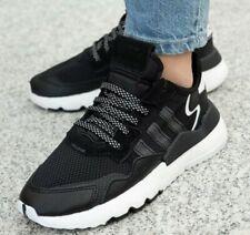Zapatillas para hombre Adidas Nite Jogger para hombre Zapatos Tenis Retro Negro EE6254 Reino Unido 12,