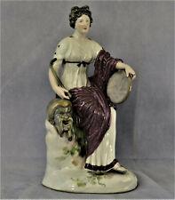 Figurine « THALIA » Muse de la Comédie en Porcelaine  Niderviller Meissen ??