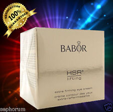 Babor HSR Lifting Extra Firming Eye Cream 30ml NEW IN  Box  retails  $129!!